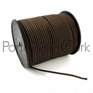 Cork cord 5 mm brown