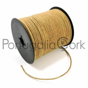 Cork cord 3 mm surface