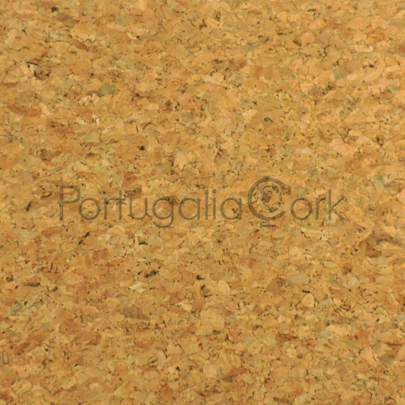 Cork paper agglo