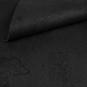Cork fabric Black
