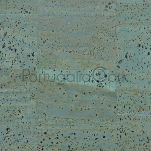 Cork fabric Blue