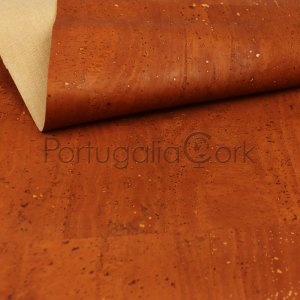 Cork fabric Cinnamon