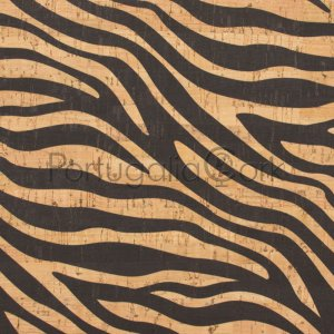 Cork fabric Zebra