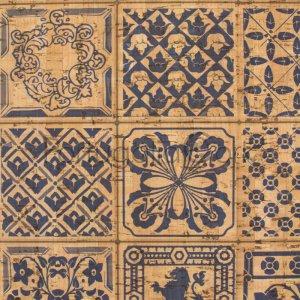 Cork fabric Tiles Ibiza