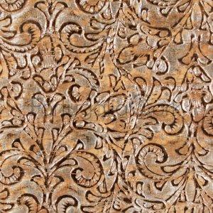 Cork fabric 3D emboss bronze