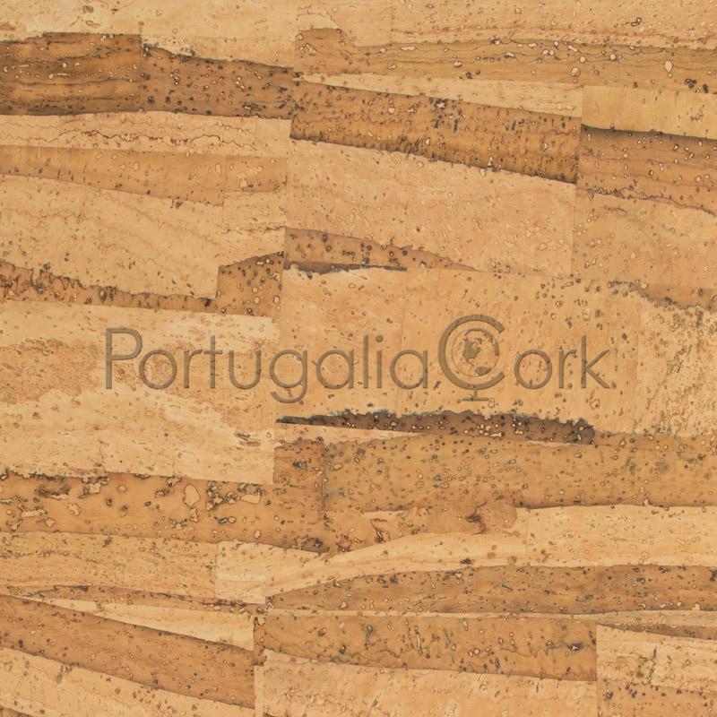 Cork fabric Mosaic